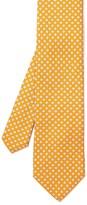 J.Mclaughlin Italian Silk Tie in Square Dot