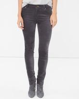 White House Black Market Velvet Skimmer Jeans