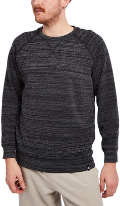 Joe's Jeans Men's Tee Shirts Black - Black Space Dye Fleece-Lined Long-Sleeve Top - Men