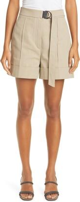 Brunello Cucinelli Belted Shorts