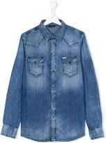 Diesel denim shirt - kids - Cotton/Spandex/Elastane - 6 yrs