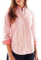 JCPenney jcpTM Long-Sleeve Oxford Shirt
