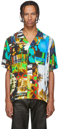 Christian Dada Multicolor Graphic Print Shirt