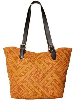 Prana Slouch Tote - Medium (Curry Wander) Tote Handbags