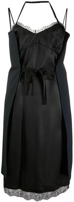 MM6 MAISON MARGIELA Wrap Tie Slip Dress
