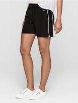 Calvin Klein Jeans Mesh-Trimmed Shorts