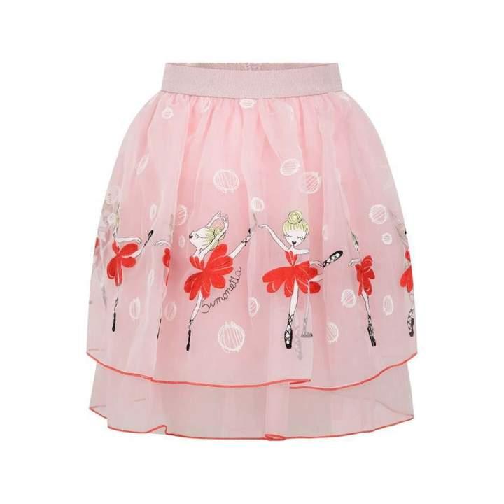 Simonetta SimonettaPink Ballerinas Skirt