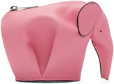 Loewe Pink Elephant Coin Pouch