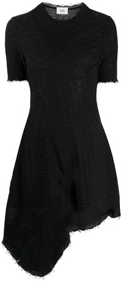 Vejas Knitted Asymmetrical Dress