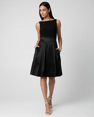 Le Château Taffeta Full Skirt Cocktail Dress