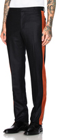 Givenchy Velvet Banded Trousers
