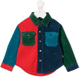 Stella McCartney Kids Contrast-Panel Corduroy Shirt