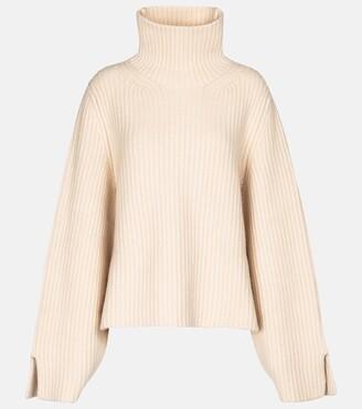 KHAITE Molly high-neck cashmere sweater
