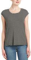 BCBGeneration Striped High-low Top.