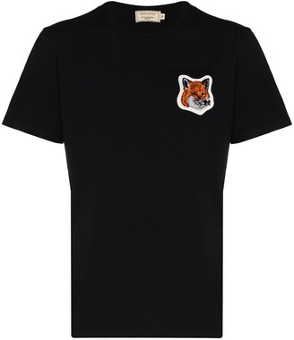 MAISON KITSUNÉ Fox Head crew-neck T-shirt