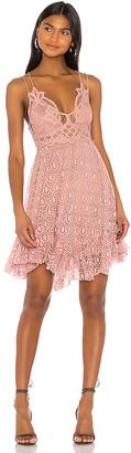 Free People Adella Burnout Velvet Slip Dress