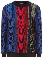 Balmain Intarsia Knit Jumper