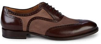 Mezlan Cantone Suede Leather Oxfords
