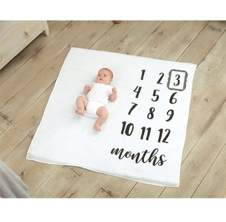 Mud Pie Monthly Milestone Blanket Set