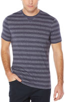Perry Ellis Short Sleeve Horizontal Stripe Tee