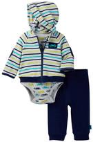 Offspring Race Cars Jacket Set (Baby Boys)