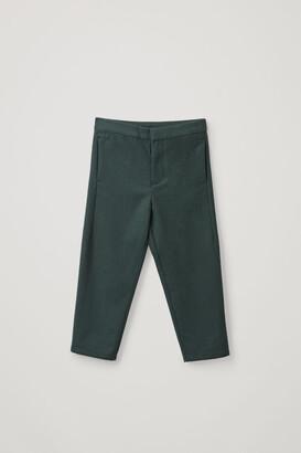 Cos Regular-Fit Wool Pants
