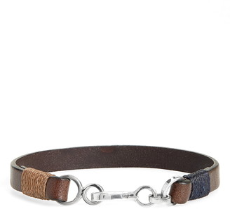 Caputo & Co. Leather Bracelet