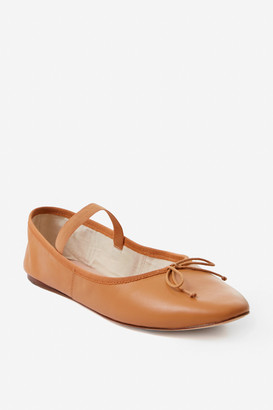 Loeffler Randall Caramel Leonie Soft Ballet Flats