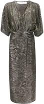 IRO metallic stripe dress