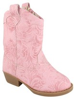 Natural Steps Toddler Girls' Clara Western Boots - Pink