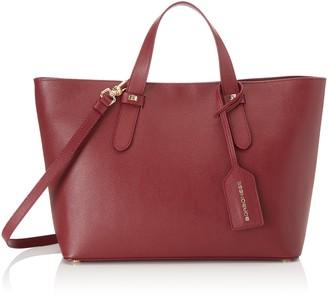 Borbonese Women's 923678J04 Shoulder Bag Red Red (Burgundy J04)