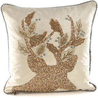 Mackenzie Childs MacKenzie-Childs - Golden Hour Stag Pillow