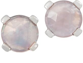 Stephen Dweck Sterling Silver and Gemstone Stud Earrings