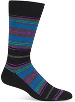 Hot Sox Sketchy Stripe Socks