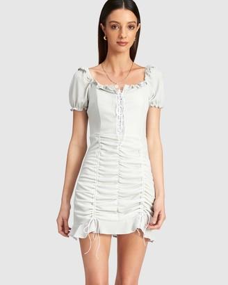 Lioness Feng Shui Mini Dress