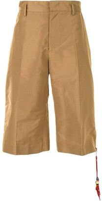 No.21 Zip-Detail Cropped Trousers