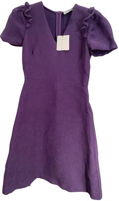 Sandro Spring Summer 2020 Purple Viscose Dresses