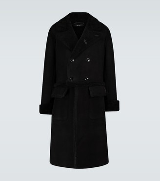 Tom Ford Long shearling coat