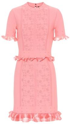 Alexander McQueen Jacquard minidress