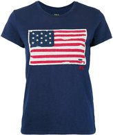 Polo Ralph Lauren flag print T-shirt