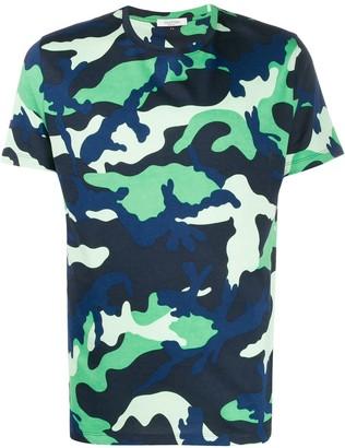 Valentino camouflage print T-shirt