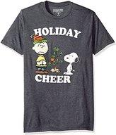 Peanuts Men's Holiday Cheer Christmas Tee