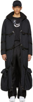 Cottweiler Black Long Puffer Coat