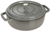 Staub Ima Cast Iron Shallow Wide Round Dutch Oven