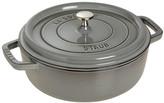 Staub Ima Cast Iron Shallow Wide Round Dutch Oven