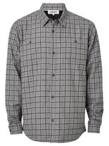 Jeanswest Clyde Check Overshirt-Steel Multi-S