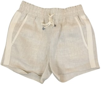 J.Crew Beige Cloth Shorts for Women