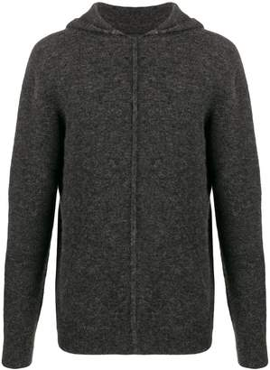 Roberto Collina raised seam hoodie