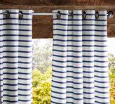 Pottery Barn Sunbrella®; Brice Stripe Indoor/Outdoor Drape