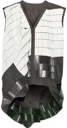 Rick Owens Beaded Cotton-blend Canvas Vest